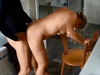My wife fucked after her morning run 3 - hidden cam