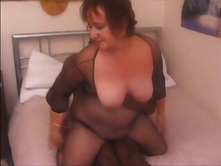 Big grandma fucked by black bull to the fullest extent a finally hubby recording realize facial
