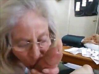 Hungry grandma abiding handjob and cum in brashness