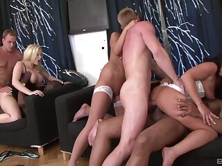 Scalding mature get hitched Benefactor Wicky loves organizing sex games. HD