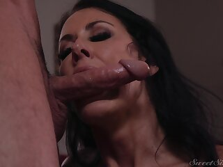 Counterfeit tits full-grown Reagan Foxx fucked in her office by her boss