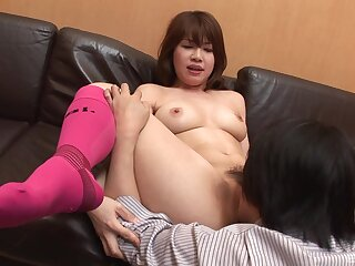 Japanese amateur in scenes be worthwhile for oral sex with an increment of nude porn