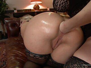 A astonishing lesbian fist fucking anal instalment more cruel XXX