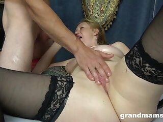 Ginger Granny Makes Monster Cock Rock-Hard