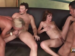 Get hitched Swap - Cougars Group Sex Video