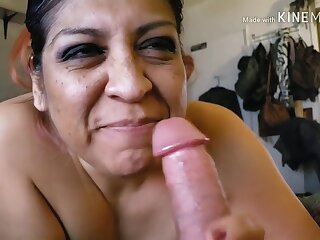 Fueled Cum-hungry Milf Sucking Cock & Edging You