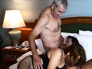 Cuckold by Asian ladyboy for Thai MILF join in matrimony and their way husband