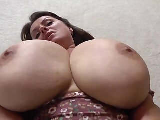 Pounding time no see with monster tits euro mature Milena Velba - brunette mom solo