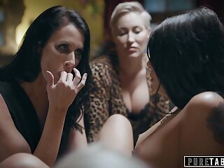 Lesbian Foursome Enraged Stepmom Makes Teen Serve Dinner Naked - Pornstars