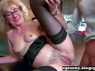 Horny Porn Clip Stockings Fantastic Just For You
