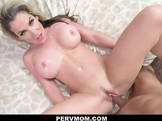 PERVMOM PAWG stepmom takes your be hung up on stick POV