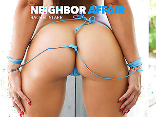 Neighbor jumps on the boxing-match to fuck his married neighbor - naughtyamerica
